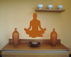 Wandtattoo Yoga Lotussitz Padmasana Wandaufkleber XXL 25 Farben 10 Größen