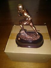 "Bronze Football Individual Resin Sculpture Trophy 7"" Tall Rx3381B"