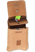 Woodland® Leder Zigarettenetui Zigarettentasche Zigarettenbox in BigBox - Größe