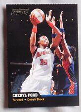 2005-06 Sports Illustrated For Kids Cheryl Ford Detroit Shock Basketball Card
