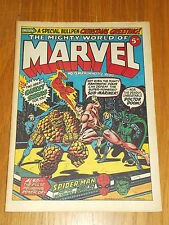 MIGHTY WORLD OF MARVEL #13 30TH DECEMBER 1972 BRITISH WEEKLY COMIC