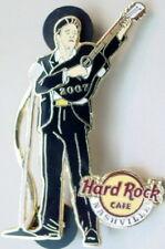 Hard Rock Cafe NASHVILLE 2007 Top Rocker Johnny Cash PIN Guitar Picker HR #36002