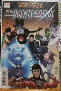 WAR OF THE REALMS NEW AGENTS OF ATLAS 1 NM/NM+ (I) HOT MANY 1ST APPRS