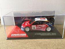 "DIE CAST "" CITROEN XSARA WRC - 2003 RALLYE DE MONTE CARLO "" CARLOS SAINZ 1/43"