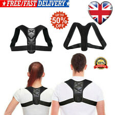 Posture Corrector Adjustable Back Shoulder Belt Support Body Brace Back UK BEST