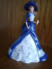 """THE BLUE WILLOW LADY """"FIONA"""" FIGURINE from the HAMILTON COLLECTION, #0525A"""