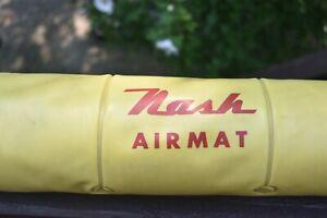 OLD 1950's 1940's ? Nash Motors Automobile Car accessory AIRMAT mattress  RARE