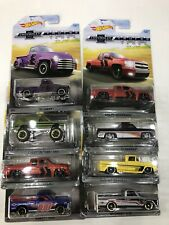 HOT WHEELS CHEVROLET TRUCKS 100 YEARS Anniversary Set In Protectors