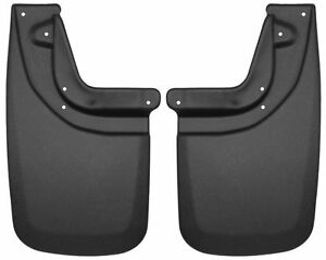 HUSKY Rear Mud Guards Flaps for 05-15 Toyota Tacoma with OE Fender Flares 57931