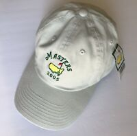 2005 Masters golf hat tiger woods wins stone color american needle pga new
