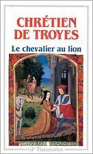 Yvain, le Chevalier au lion de Chrétien de Troyes | Livre | état bon