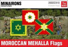 Minairons 1:72 Moroccan Mehalla flags - 20mm Spanish Civil War