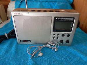 SANGEAN CC Radio Plus DX WX-AM/FM/TV/Weather Band Radio Receiver NO Display