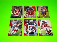 6 MONTREAL ALOUETTES UPPER DECK CFL FOOTBALL CARDS 48 50 51 52 64 90   #-5