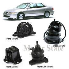 AT Trans Engine Motor Mounts Kit For 98-02 Honda Accord 2.3L AT Trans G030