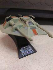 Star Wars Action Fleet Rebel Snowspeeder w/2 Figures/Stand Galoob 1995 Vehicle