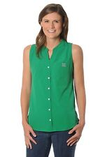 NEW MARSHALL THUNDERING HERD Tunic Top Shirt Small Button Front