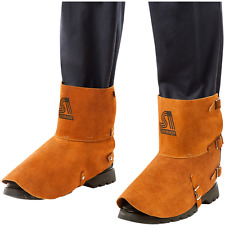 "Steiner 12185 Welding Spats Foot & Ankle Protection Leather 5"" x 7"" Shoes"