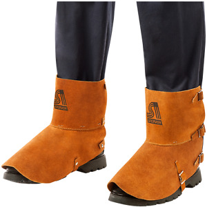 """Steiner 12185 Welding Spats Foot & Ankle Protection Leather 5"""" x 7"""" Shoes"""