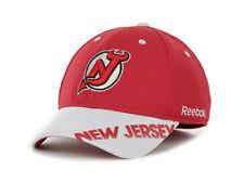 New Jersey Devils Reebok MO76Z NHL Pro Shape Hockey Practice Cap Hat  L/XL