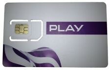 Play Poland SIM Sim 4G - Activated - Registered - Brand New
