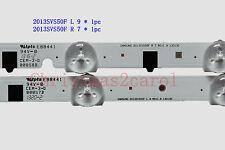 "2 PCS Original 50"" TV Strip 2013SVS50F L 9 + 2013SVS50F R 7 for UN50F6350"