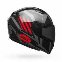CASCO INTEGRALE MOTO BELL QUALIFIER BLAZE GLOSS BLACK/RED/TITANIUM