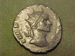 Roman AE Antoninianus of Claudius ll Gothicus 268 -270 AD. good fine condition