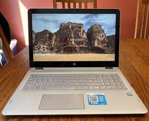 HP Envy x360 convertible laptop 15.6 i5 7200u 12gb 1TB Win 10 M6-AQ103DX tested