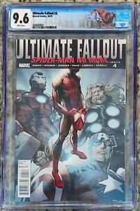 Ultimate Fallout #4 CGC 9.6 1st Appearance Miles Morales 1st Print Special Label