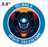 NASA HUBBLE SPACE TELESCOPE - Truck Car Window Sticker Decal Vinyl Applique