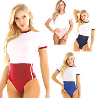 Women Bodysuit Lingerie Uniform Japanese Schoolgirl Fancy Dress Cosplay Costume