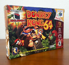 Donkey Kong 64 (Nintendo 64 / N64) - CIB Complete in Box - Authentic!