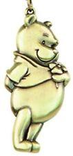 Disney Winnie The Pooh Brass Key Ring Keychain Keyring