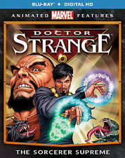 Doctor Strange The Sorcerer Supreme NEW Bluray disc/case/cover only-no digital