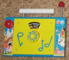 "Multicolor 7 1/4"" Musical Fisher Price Radio Plays ""The Farmer in The Dell"""