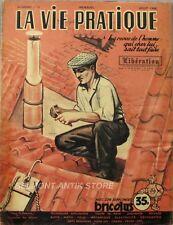 La vie pratique n°12 - 1948 - Bricolus - Le filetage - Cloture de briques -