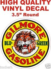 Vintage Style Gilmore Blu Green Gasoline Oil Gas Pump Decal Nice! The Best!