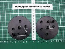 Placa de montaje soporte espejo para retrovisores 90 mm con 7 punto soporte universal
