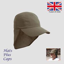 Gorra Sombrero de Sol UV Cuello Legionarios protección UPF verano de  microfibra ligero 089d04b328d