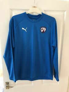 Chesterfield Fc Sweat Top M Vgc