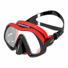 Atomic Aquatics Venom Frameless Mask Black Red