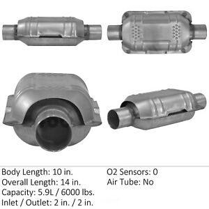 Catalytic Converter-Universal Eastern Mfg 83164