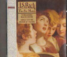 C.D.MUSIC F374    J.S.BACH : THE SIX MOTETS   CD