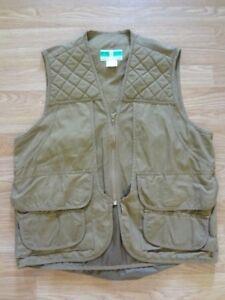 Game Winner Sportswear Hunting Vest Large 38/40 Pockets Zipper Vintage