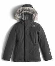 THE NORTH FACE Girl's Greenland DOWN Parka Coat Graphite Grey NWT $199 SMALL
