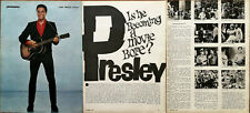 More details for elvis presley is he becoming a movie bore? vintage film star article 1966