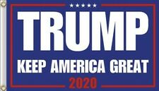 Trump 2020 ...KEEP AMERICA GREAT.. 3 x 5 Foot Flag..+ 1 Decal... HOT NEW DESIGN!