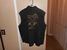 Harley Davidson Black Screamin Eagle Garage/Shop Sleeveless Shirt XXXL