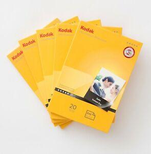 "100x Kodak Ultra Premium Photo Paper 6x4"" (10x15cm) 280gsm Instant Dry Satin"